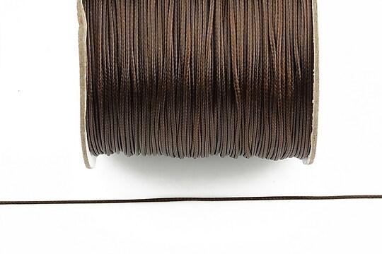 Snur cerat grosime 0,8mm, maro inchis (10m)