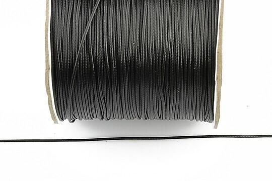 Snur cerat grosime 0,5mm, negru (10m)