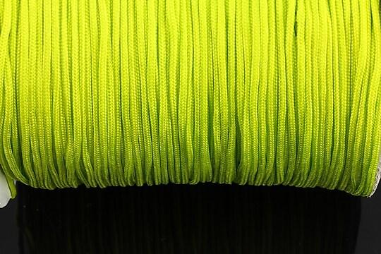 Snur nylon grosime 1,4mm (1m) - galben verde