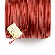 Snur Shamballa Dandelion grosime 1mm, rola de 100m - maro roscat