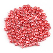 Margele Super Duo 2.5x5mm - Pearl Shine - Rose