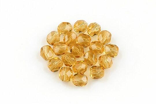 Margele fire polish 6mm - Gold Fish