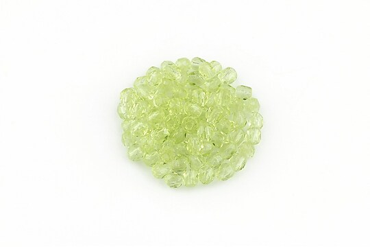 Margele fire polish 3mm (10 buc.) - Lt Olivine
