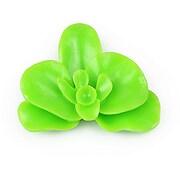 Cabochon rasina orhidee 30x36mm - verde