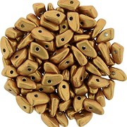 Margele PRONG 3x6mm - Saturated Metallic Flame