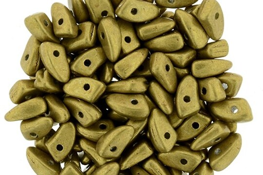 Margele PRONG 3x6mm - Saturated Spicy Mustard