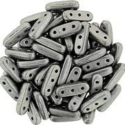 Margele CzechMates BEAM 3x10mm - Saturated Metallic Sharkskin