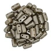 Margele CzechMates BRICKS 3X6mm - Pearl Coat - Brown Sugar