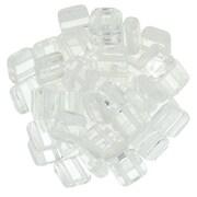 Margele CzechMates TILE BEADS 6mm - Crystal