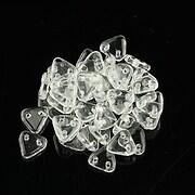 Margele CzechMates TRIANGLES 6mm - Crystal