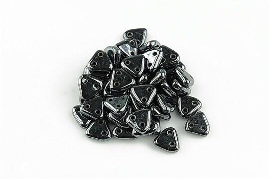 Margele CzechMates TRIANGLES 6mm - Hematite