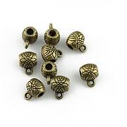 Agatatoare pandantiv bronz 7x5x5mm