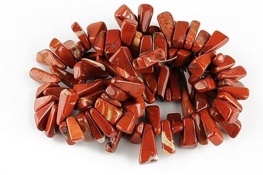 Sirag jasp rosu fulgi 2-8x10-17mm