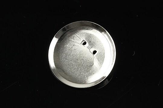 Baza brosa argintie cu platou 29mm