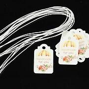 Etichete Handmade for you 25x15mm (100buc.)