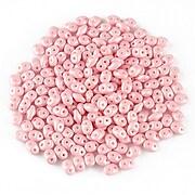 Margele Super Duo 2.5x5mm - Powdery - Pastel Pink