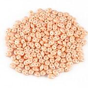 Margele Super Duo 2.5x5mm - Powdery - Pastel Peach