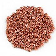Margele Super Duo 2.5x5mm - Powdery - Copper