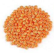 Margele Super Duo 2.5x5mm - Powdery - Orange