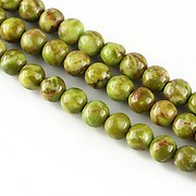 Turcoaz african sfere 6mm - olive