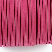 Snur suede (imitatie piele intoarsa) 3x1mm (5m) - magenta