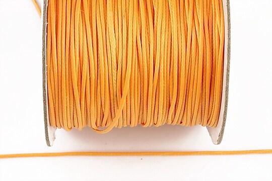 Snur cerat grosime 1mm (10m) - portocaliu deschis