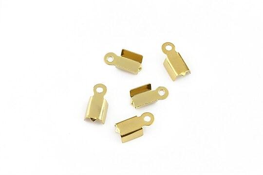 Capat snur otel inoxidabil 304 auriu 10x4x3mm