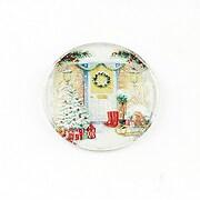 "Cabochon sticla 25mm ""Christmas"" cod 1414"