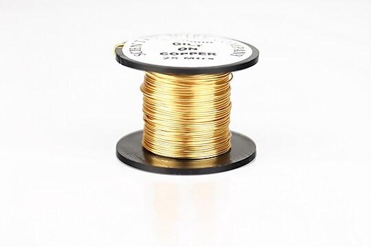 Sarma de modelaj GILT, non tarnishing, grosime 0,5mm, rola 25m