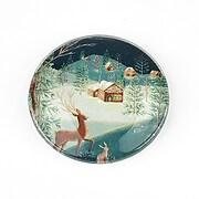 "Cabochon sticla 30mm ""Christmas"" cod 1416"