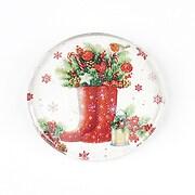 "Cabochon sticla 30mm ""Christmas"" cod 1420"