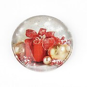 "Cabochon sticla 30mm ""Christmas"" cod 1425"