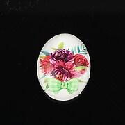 """Cabochon sticla 25x18mm """"Spring"""" cod 1452"""