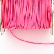 Snur cerat grosime 1mm, roz neon (10m)
