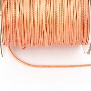 Snur cerat grosime 1mm, portocaliu somon (10m)