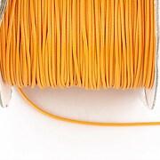 Snur cerat grosime 1mm, portocaliu deschis (10m)