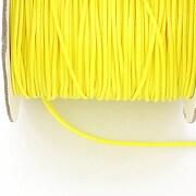 Snur cerat grosime 1mm, galben aprins (10m)