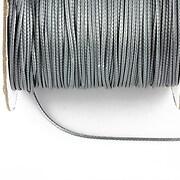 Snur cerat grosime 1mm, gri argintiu (10m)