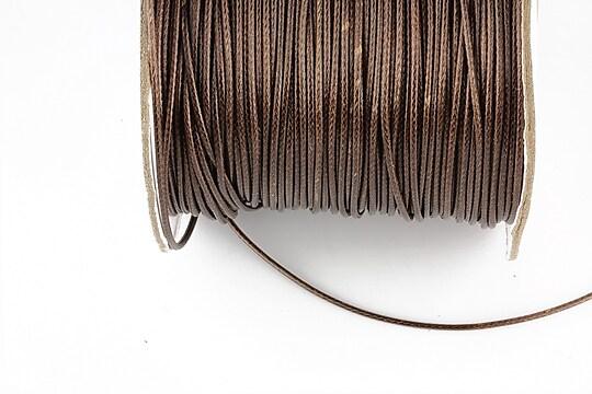 Snur cerat grosime 1mm, maro inchis (1m)