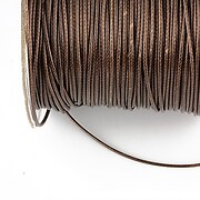 Snur cerat grosime 1mm, maro inchis (10m)