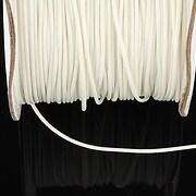 Snur cerat grosime 1mm, alb (10m)