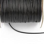 Snur cerat grosime 1mm, negru (10m)