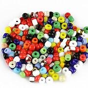 Margele de nisip opace 3mm (50g) - cod 601 - mix multicolor