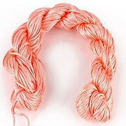 Ata nylon, grosime 1mm, aprox. 20-22m, roz somon