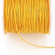Snur Shamballa Dandelion grosime 1mm, rola de 100m - portocaliu deschis