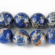 Regalite albastru sfere 12mm