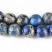 Regalite albastru sfere 10mm