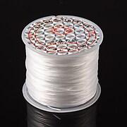 Elastic pentru bratari Crystal String 0,5mm - rola 45m - alb
