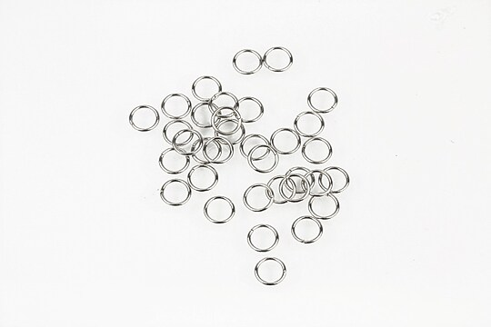 Zale otel inoxidabil 304, 4mm (grosime 0,5mm) (50 buc.)