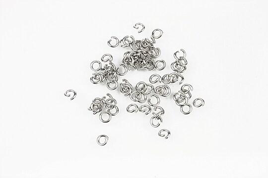 Zale otel inoxidabil 304, 3mm (grosime 0,6mm) (50 buc.)